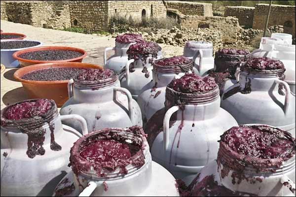 Вино в древности